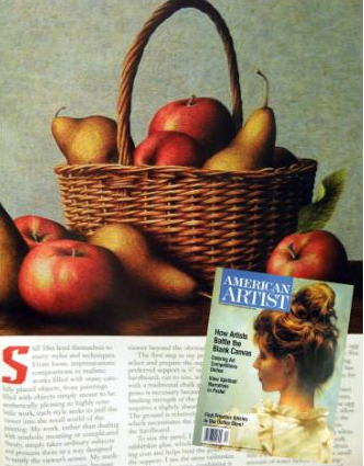 American Artist magazine article