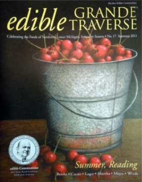 Edible Grand Traverse magazine cover